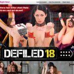 Free 18 Defiled Logins
