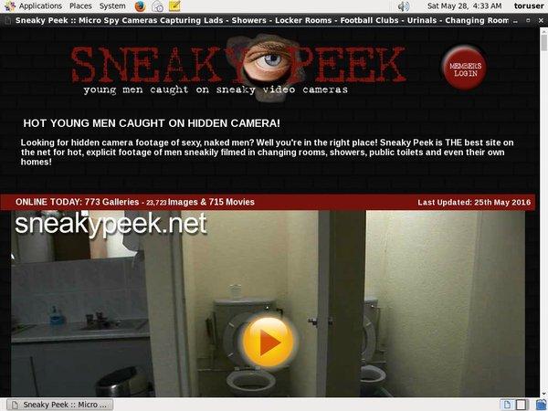 Sneakypeek Collection