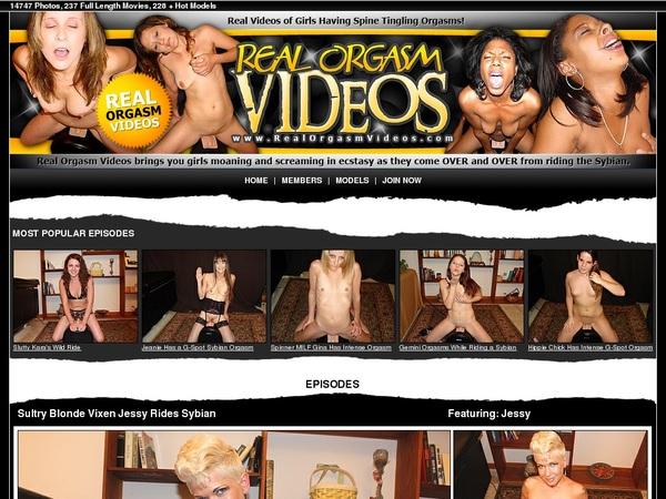 Realorgasmvideos Free Login
