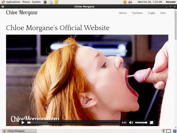 Chloe Morgane Discount Promo